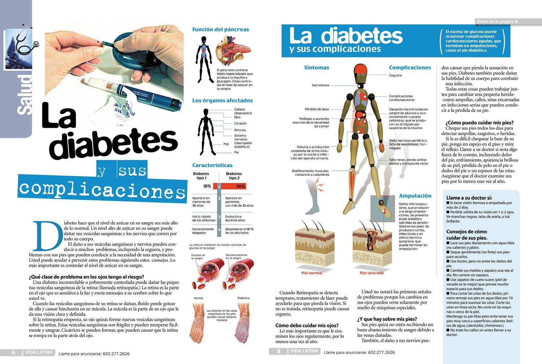 Complicaciones de la diabetes; Complicaciones Diabéticas