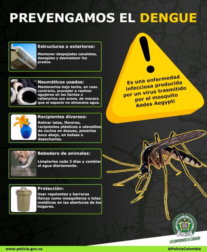 Prevención para el Dengue