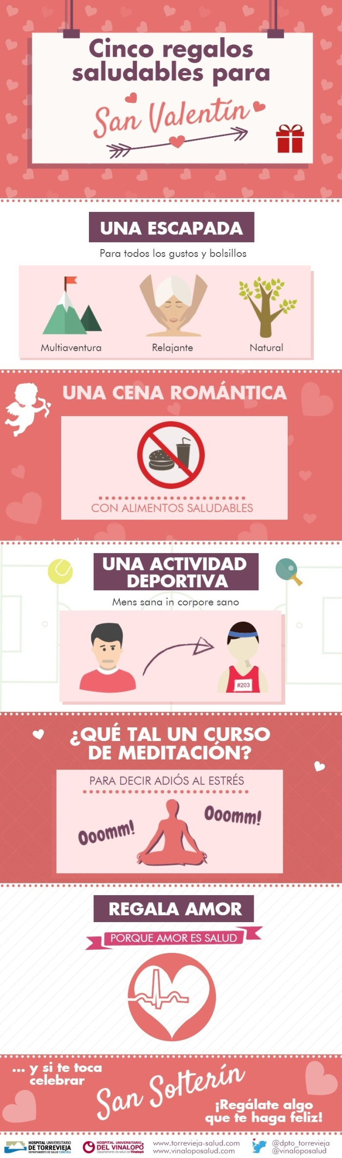 5 regalos saludables para San Valentín