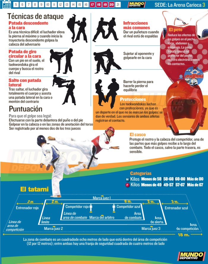 Taekwondo-infografia